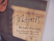 Forster, Robert TV Week Signed Autograph Banyon Oct 29 1972