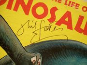 Foster, Phil LP Signed Autograph A Day In The Life Of A Dinosaur