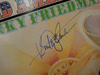 """Friedman, Kinky  """"Sold American"""" 1973 LP Signed Autograph """"Get Your Biscuits In The Oven And Your Buns In The Bed"""""""