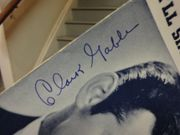 Gable, Clark  and Marion Davies Cain And Mabel 1936 Sheet Music Signed Autograph Ill Sing You A Thousand Love Songs Cover Photo