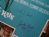 George, Lynda Day Christopher George LP Signed Autograph The Gentle Rain 1966