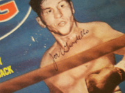 Giardello, Joey  The Ring Magazine 1963 Signed Autograph Boxing Color Cover Photo