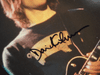 Gilmour, David Color Photo Signed Autograph Pink Floyd