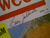 Goldwater, Senator Barry  Newsweek Magazine 1961 Signed Autograph Color Cover
