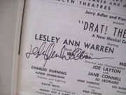 Gould, Elliott Lesley Ann Warren Playbill Signed Autograph Drat! The Cat! 1965