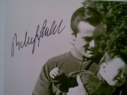 Goulet, Robert  Carol Lawrence 1966 Photo Signed Autograph Abc Tv With Byline