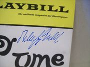 Goulet, Robert Playbill Signed Autograph The Happy Time 1968