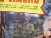 Greene, Lorne LP Signed Autograph Welcome To The Ponderosa Bonanza Battlestar Galactica 1964