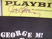 Grey, Joel Playbill Signed Autograph George M! 1968