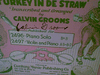 Grooms, Calvin Sheet Music Signed Autograph Turkey In The Straw Racist 1927