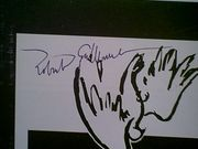 Guillaume, Robert  1971 Theatre Program Charlie Was Here And Now Hes Gone Signed Autograph