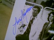 Hagman, Larry  Stockard Channing 1976 Photo The Big Bus Signed Autograph
