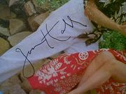 Hall, Jon  Brings Music From Hawaii 1950S LP Signed Autograph Ramar Of The Jungle