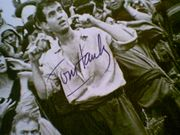 Hanks, Tom  1985 Photo Volunteers Signed Autograph Movie Scene