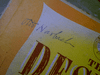 """Harbach, Otto  & Oscar Hammerstein """"The Desert Song"""" 10"""" LP 1940's Signed Autograph"""