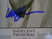 Harrelson, Woody  1993 Photo Signed Autograph Indecent Proposal