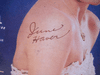 Haver, June Magazine Signed Autograph Movie Play July 1952