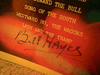 Hayes, Bill LP Signed Autograph The Best Of Disney