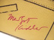 Hays, Robert Margot Kidder Press Kit Signed Autograph Trenchcoat 1983