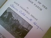 Hegan, Alice Caldwell  Mrs. Wiggs Of The Cabbage Patch 1903 Book Signed Autograph