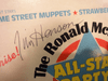"""Henson, Jim """"The Ronald McDonald All-Star Party"""" 1982 Signed Autograph Muppets"""