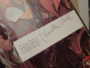 Heston, Charlton Stephen Boyd Jack Hawkins Ben Hur 1959 LP Box Set Signed Autograph With Hardcover Book Color Photos