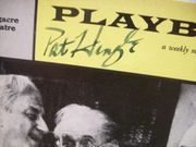 Hingle, Pat Playbill Signed Autograph The Deadly Game 1960