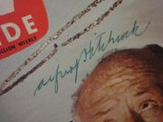 Hitchcock, Alfred TV Guide Magazine 1959 Signed Autograph Photos