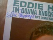 Hodges, Eddie  Im Gonna Knock On Your Door 45RPM Record With Picture Sleeve Signed Autograph Cover Color Photo 1961