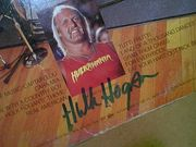 Hogan, Hulk  Lou Albano The Wrestling Album 1985 LP Signed Autograph Wwf