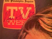 Holbrook, Hal  TV Week Magazine 1980 Signed Autograph Omnibus Color Cover Photo