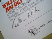 Holden, William  Cliff Robertson Vince Edwards The DevilS Brigade 1968 Sheet Music Signed Autograph Theme