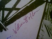 Holden, William  Jack Hawkins Alec Guinness The Bridge On The River Kwai LP Signed Autograph