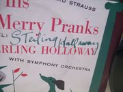 Holloway, Sterling 45 Signed Autograph Tyl and his Merry Pranks Picture Sleeve