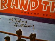Holloway, Sterling LP Signed Autograph Peter And The Wolf Walt Disney