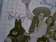 Hope, Bob  Dorothy Lamour Bing Crosby But Beautiful 1947 Sheet Music Signed Autograph Road To Rio