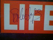 Hope, Bob  Life Magazine 1962 Signed Autograph Color Cover Photo