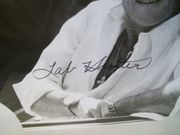 Hunter, Tab Photo Signed Autograph Polyester 1981