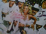 Jenner, Bruce Valerie Perrine LP Signed Autograph CanT Stop The Music 1980