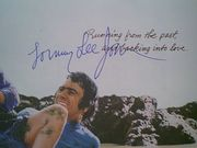 Jones, Tommy Lee  and Sally Field Back Roads 1981 Sheet Music Signed Autograph Ask Me No Questions Color Cover Photo