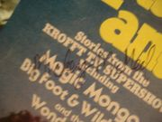 Kaptain Kool And The Kongs LP Signed Autograph Krofft Supershow 1978