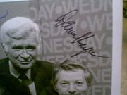 Kaye, Danny  Buddy Ebsen Dick Van Dyke 1978 Photo Signed Autograph Cbs On The Air