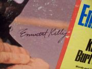 Kelly, Emmett LP Signed Autograph The Clown And The Kids