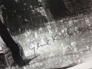 Kelly, Gene Photo Signed Autograph Singin In The Rain Movie Scene