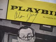 King, Alan Playbill Signed Autograph The Impossible Years 1966