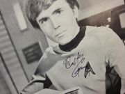 Koenig, Walter  and George Takei Star Trek Photo Signed Autograph