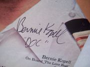 Kopell, Bernie Tv Week Signed Autograph The Love Boat Aug 3 1980
