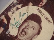 Kovacs, Ernie Mickey Rooney LP Signed Autograph Operation Mad Ball 1957