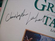 Lambert, Christopher LP Signed Autograph Greystoke The Legend Of Tarzan Lord Of The Apes 1984