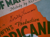"""Lamour, Dorothy """"The Moon Of Manakoora"""" 1937 Sheet Music Signed Autograph """"The Hurricane"""" Photo"""
